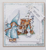 HT1648 Clearstamps Hetty's Gnomes winter vb