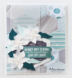 CS1036 Clearstamps Hallo winter by Marleen vb