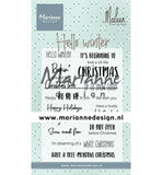 CS1037 Clearstamps Hello winter by Marleen