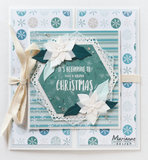 CS1037 Clearstamps Hello winter by Marleen vb