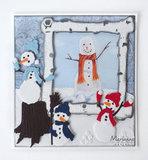 LR0631 Creatables Tiny's Frosty snowmen