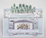 PS8048 Craftstencil Fire Place by Marleen vb