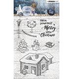 STAMPSA399  Stamp, Snowy Afternoon nr.399