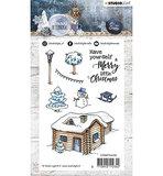 STAMPSA399  Stamp, Snowy Afternoon nr.399 vb