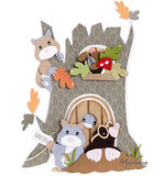 Marianne Design - Craftstencil Treehouse by Marleen - PS8073_9