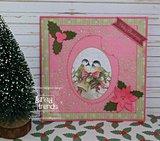 PM10182 Dies - Precious Marieke - Touch of Christmas - Christmas Bells Frame
