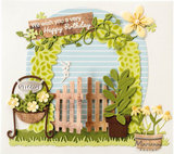 CR1542 Craftables snijmallen Potted Plants by Marleen