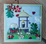 CR1540 Craftables snijmallen Wishing Well by Marleen vb