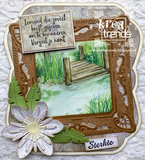 CS1041 Clearstamps Condoleance Marianne Design
