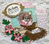 LR0697 Creatables snijmallen Blossom