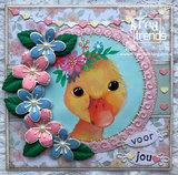 EWK1282 Knipvel Sensibility Duck - Els Wezenbeek
