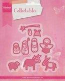 COL1395 Collectables snijmallen set Nativity - kerststal
