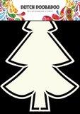 470.713.126 Dutch Doobadoo Shape Art frames kerstboom A5