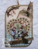 Voorbeeldkaart Henriëtte de Graaf Dutch Shape Art Teardrop