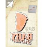 6002-0499 Snijmal Babyshower Joy!Crafts