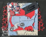 USAD10004 Snijmal Bike America Collection Amy Design voorbeeld Margreet Burger