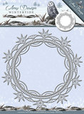 ADD10079 Snijmal Wintertide Ice Crystal Frame Amy Design