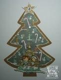 Dutch Doobadoo kerstboom - voorbeeld Linda Timpers