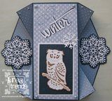 ADD10081 Snijmal Ice Crystal Wintertide Amy Design Voorbeeld Giny Bakker