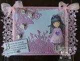 Yvonne Creations Paperpack Spring-tastic voorbeeld Ine Lambregts