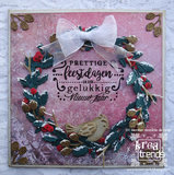ADCS10009 Stempel Christmas Greetings Amy Design: voorbeeld Henriëtte de Graaf
