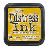 Distress ink pad Fossilized Amber