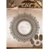ADD10104 Snijmallen  Amy Design - Wild Animals - African Circles