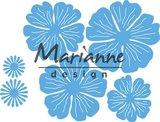 LR0546  Marianne D Creatable Anja`s prachtige bloemenset