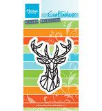 CR1445 Craftables snijmal Geometric deer