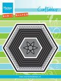 CR1444-2 Craftables snijmal basic set hexagon