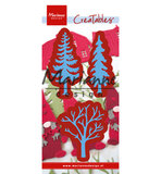 LR0556-2 Creatables snijmallen Forest trees (set of 3)