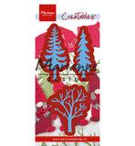 LR0556-2 Creatables snijmallen Forest trees (set of 3)