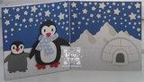 COL1416 Collectables snijmallen pinquins voorbeeld Giny Bakker