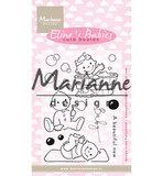 EC0176 Clearstamps Eline's Cute Babies
