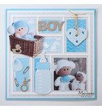 CR1456 Craftables Punch die Baby items voorbeeld