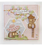 LR0579 Creatables snijmallen Fairy flower house vb