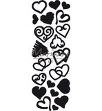 CR1460 Craftables Punch die Sweet Hearts