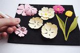 DF3451 voorbeeld opbollen bloemen