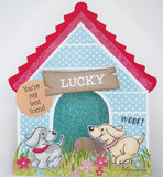 PS8030 Craftstencil Doghouse by Marleen vb