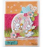 EC0178 Clearstamps Eline's cute animals – bunnies vb