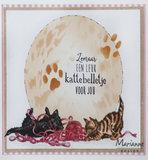 TC0873 Clearstamps Tiny's Border - kittens vb