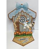 470.713.710 Dutch Doobadoo Card art Birdhouse vb