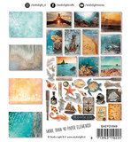 EASYOV649 - Die Cut Paper Set Ocean View nr.649