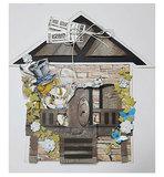 470.713.719 Dutch Doobadoo Card Art Huisje 2 delig vb1