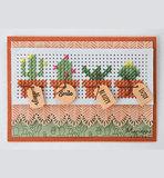 CR1473 Craftables snijmal Cross stitch border vb