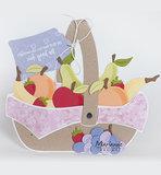 PS8038 Craftstencil Fruit Basket by Marleen vb