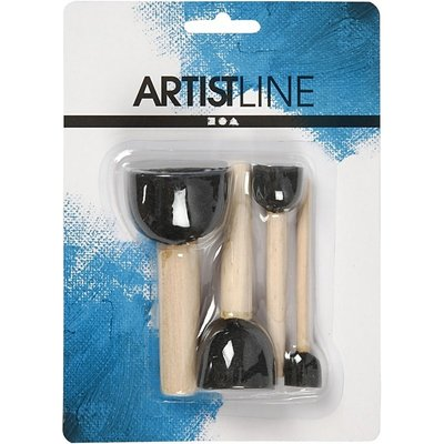 104090 Foam Stencil Brushes