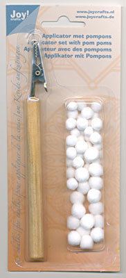Applicator met pompons Joy! Crafts