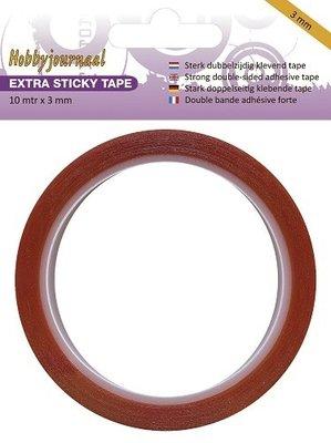 HJSTICKY03 Hobbyjournaal extra sticky tape 3 mm