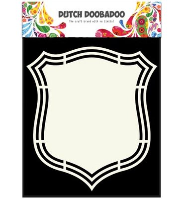 Dutch Doobadoo Schild Shape Art 470.713.140